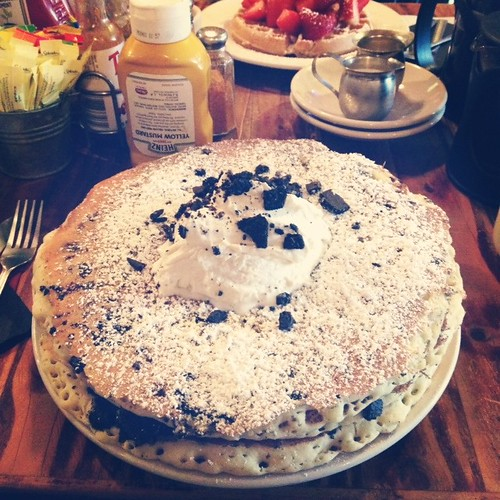 """""""Black magic"""" from The Griddle Cafe in WeHo"""
