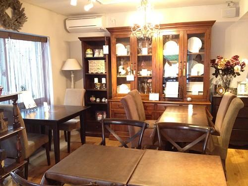 おうちの食卓のような温かさ@Tiaras Cafe & Shop