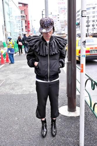 Cool Jacket in Harajuku