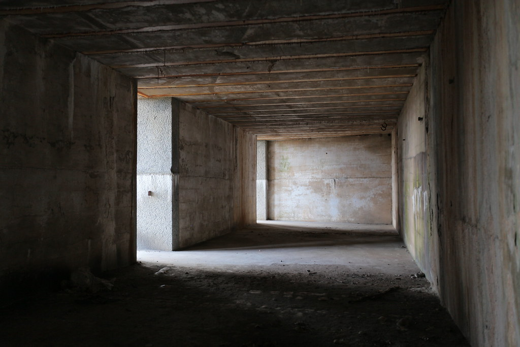 Inside Fort Totten