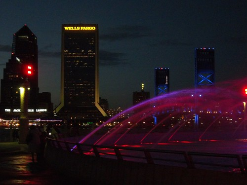 downtown Jacksonville, Friendship Fountain