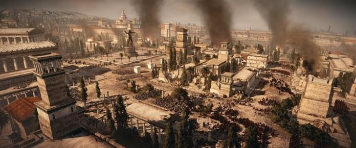 Carthage burns