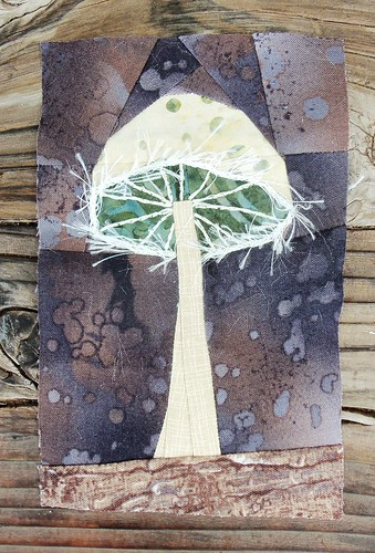More realistic mushroom... by ruthiequilts