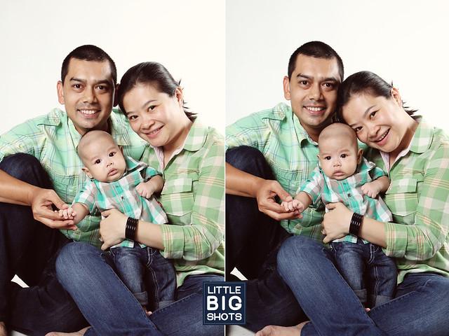 Loving Little Aqeef   Family Studio Portraiture