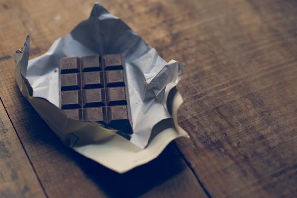 tartaleta chocolate con naranja