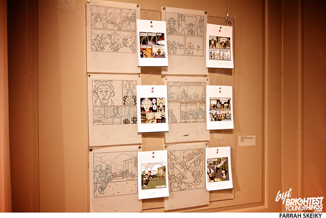 The Art of Comic Books Mansion at Strathmore Brightest Young Things Farrah Skeiky 43