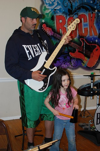 Lew and Emma Rocking Out