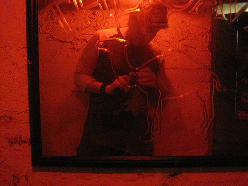 Mirror in The Cave (Chapel Hill)