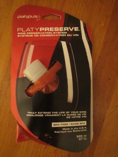 Platy Preserve Wine Preservation System