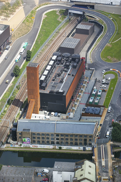 Aerial photo of the Energy Centre