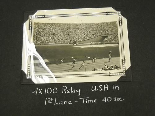 1936 Summer Olympics Relay
