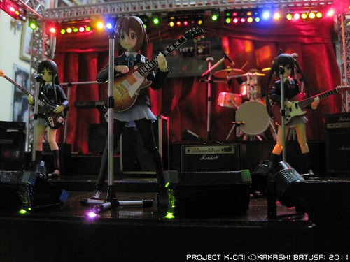 Project K-ON! Live Concert Stage Diorama by Kakashi Batusai - Figma -gundamph (25)
