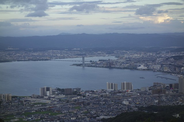 Lake Biwa and Otsu City