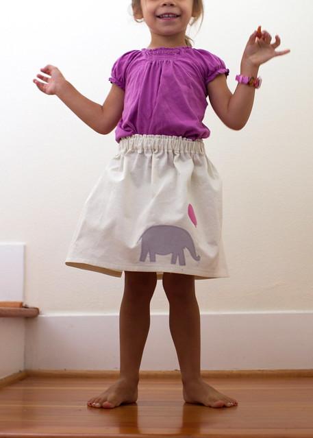 elephant skirt