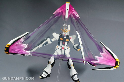 Robot Damashii Nu Gundam & Full Extension Set Review (96)