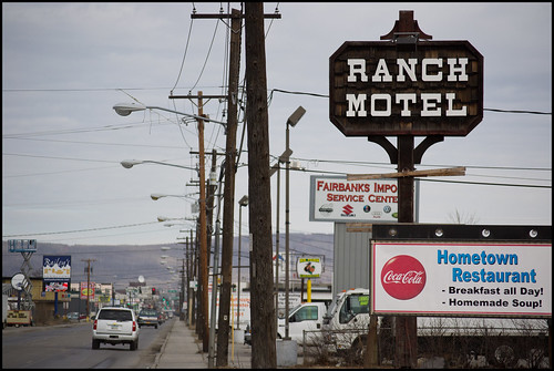 ranch motel sign