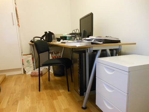 Erik i kontoret