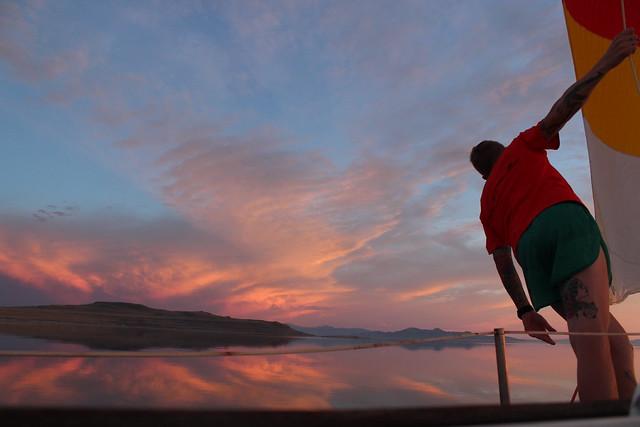 sailing the great salt lake