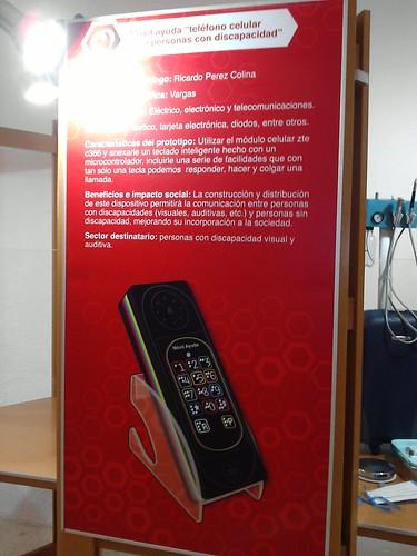 Dispositivo para Telefonos Celulares para  Personas con Discapacidad