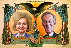 Claire McCaskill vs. Todd Akin - MO Senate 2012