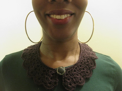 Lulu Loves Crochet Collar