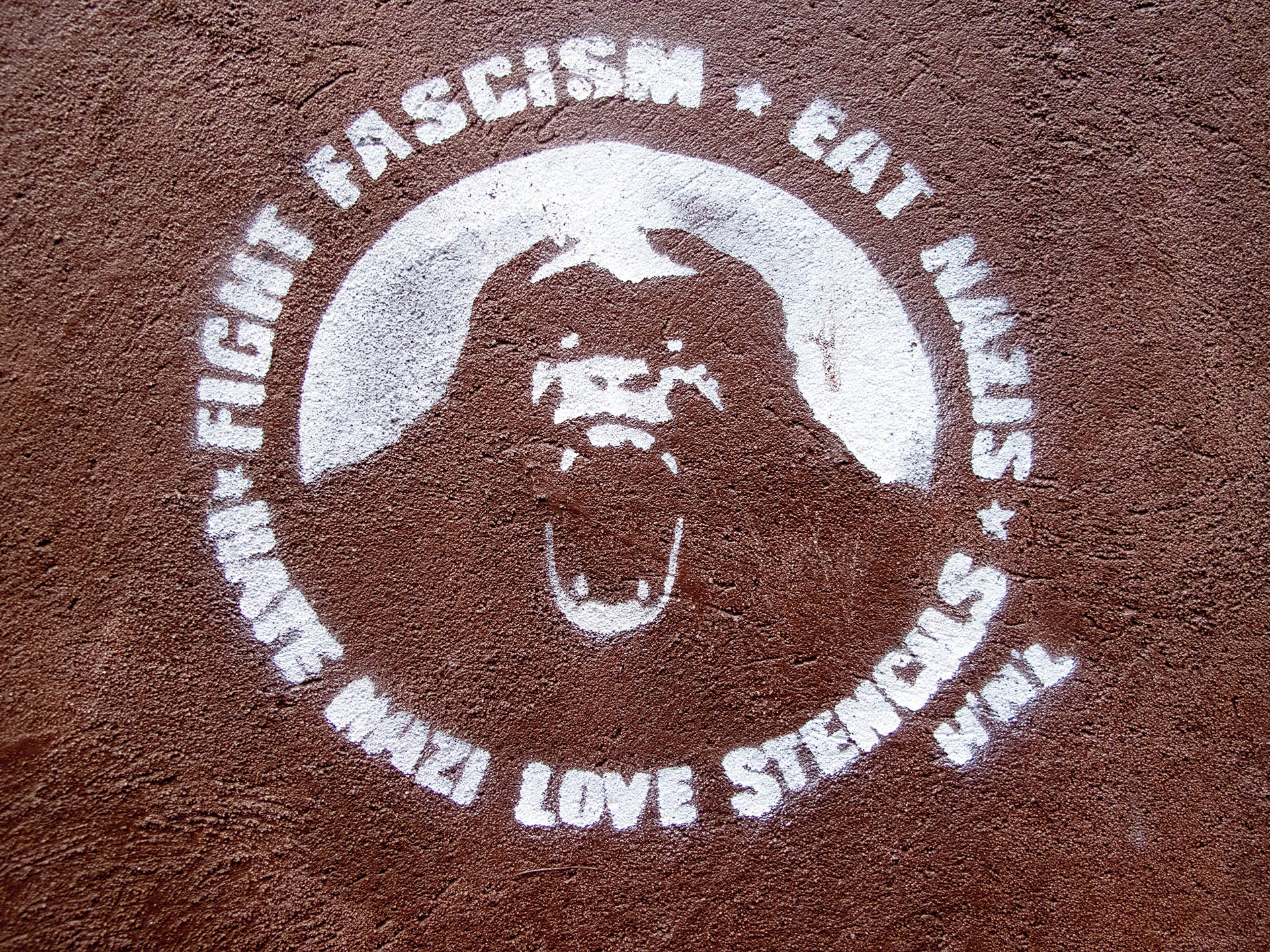 Fight Fascism - Stencil