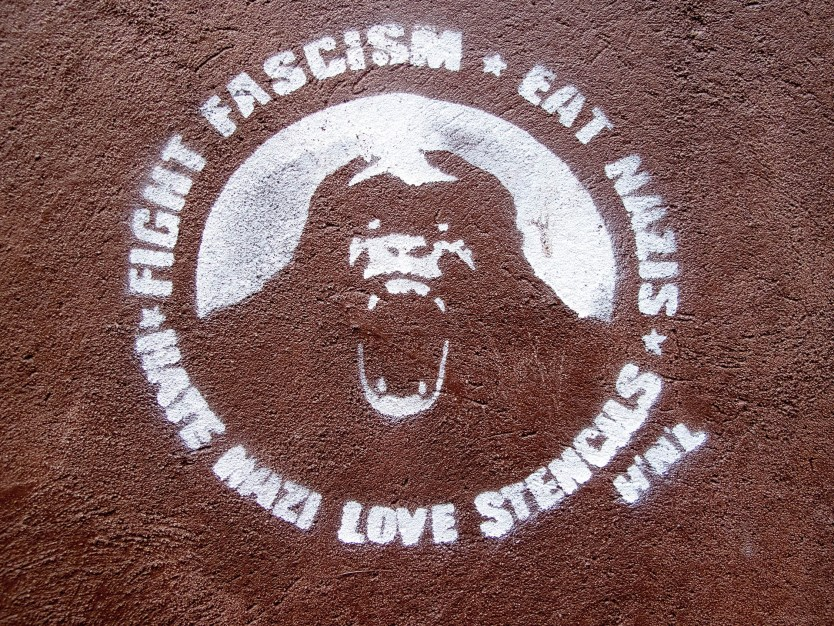 Fight Fascism - Stencil