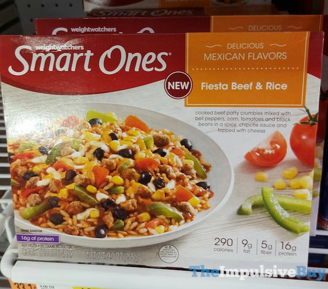 Weight Watchers Smart Ones Fiesta Beef & Rice