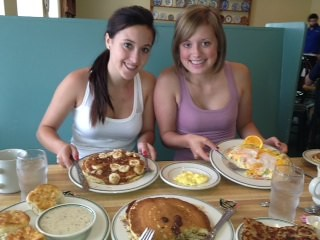 Intern Friend Breakfast