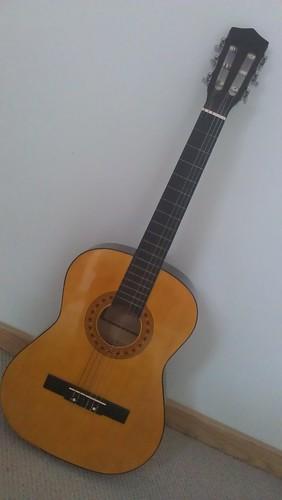 Poppy's guitar