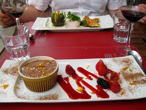 Dessert at Le Cercle