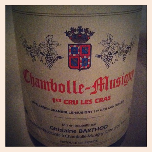 Chambolle-Musigny Les Cras 2000 Ghislaine Barthod