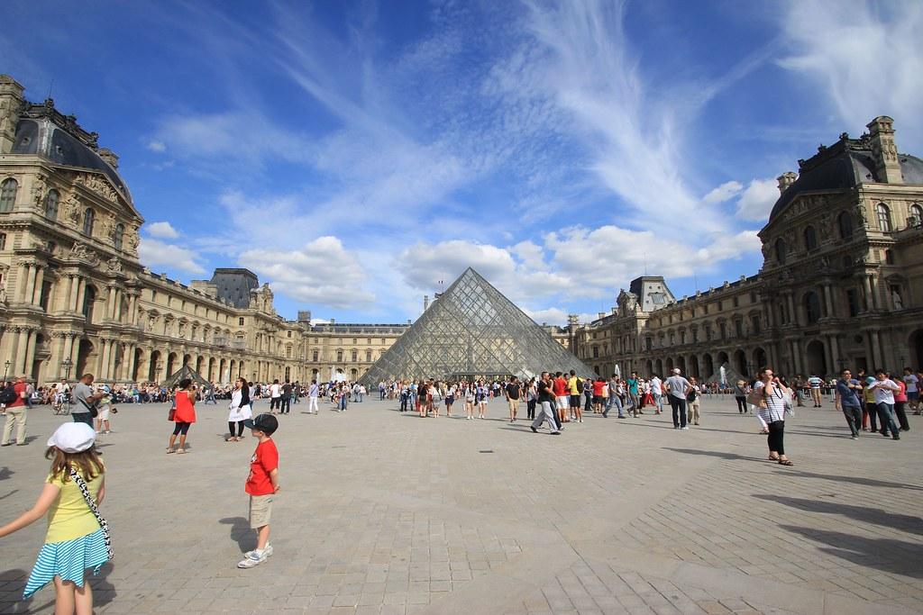 the Louvre- Paris, France