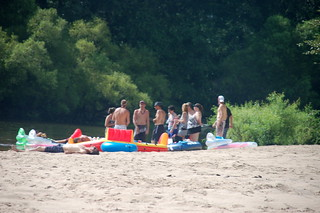 Edisto River Beach Party