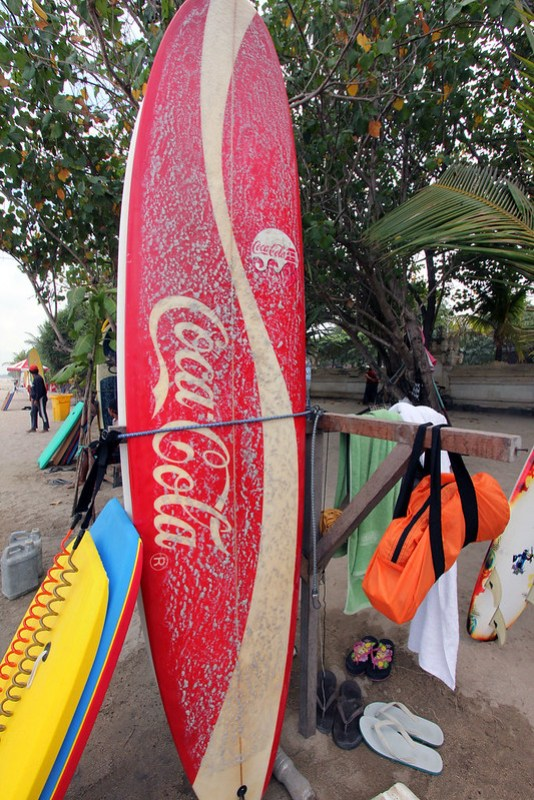 Coca Cola surfboard
