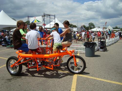 A 6-person bike