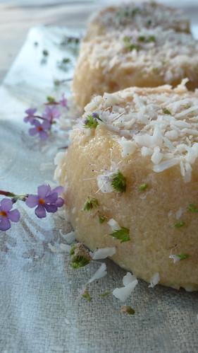 Peach pudding - Budino alle Pesche
