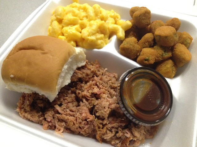 NC style BBQ platter - Speedway Grill & Cafe
