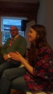 Sarah at SMC_MCR event
