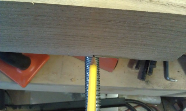 Moxon Vise - Marking for Center