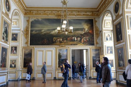 in the Palace of Versailles