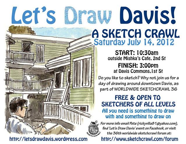 let's draw davis july 2012