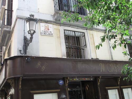 Calle Echegaray, Barrio de Las Letras. Madrid