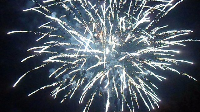 Haven Arms Bonfire Night Fireworks burst