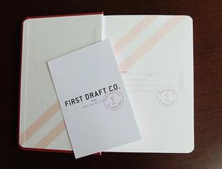 first draft notebook - 3