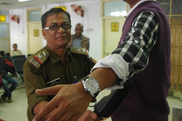 CISF Personal, Mr. Bhalendu Datta, Silchar airport, Dec 1, 2011