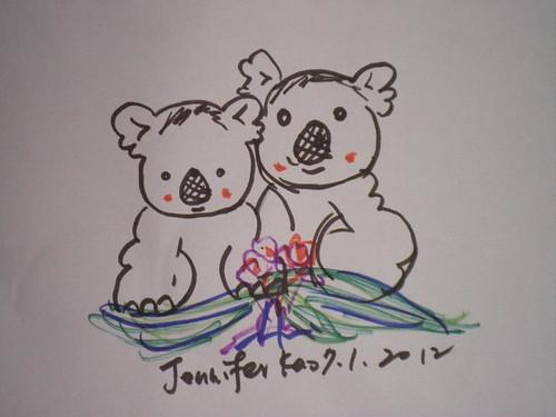 鉛字筆_無尾熊