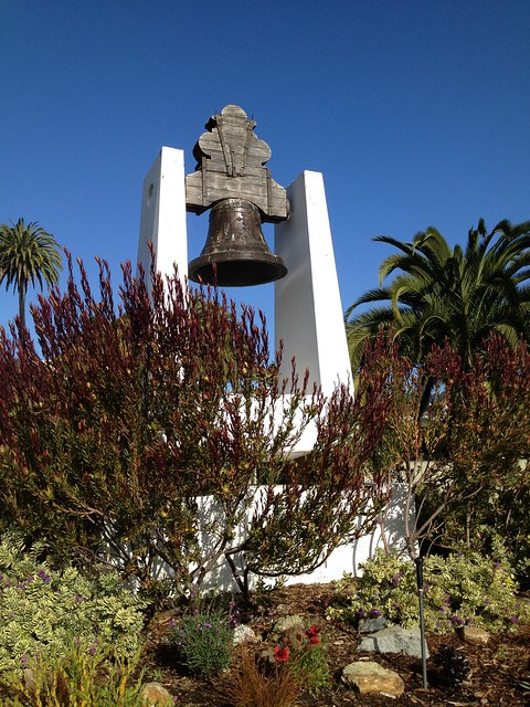 Dolores Hidalgo church bell replica, Dolores Park