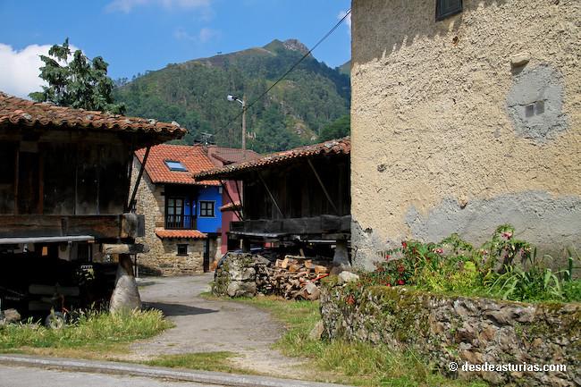 Hrreos de Asturias tipologas contruccin  Qu ver