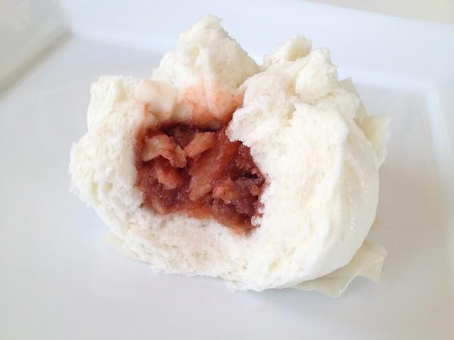 Steamed bbq pork buns - Good Luck Dim Sum